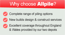 Why choose AllPile Piling services in Essex?
